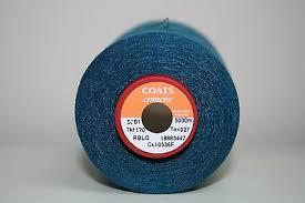 5,000M Cone of Navy Cometa 120 Overlocking Thread