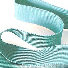 Aqua Blue Milliner's Petersham Ribbon in 2 Widths