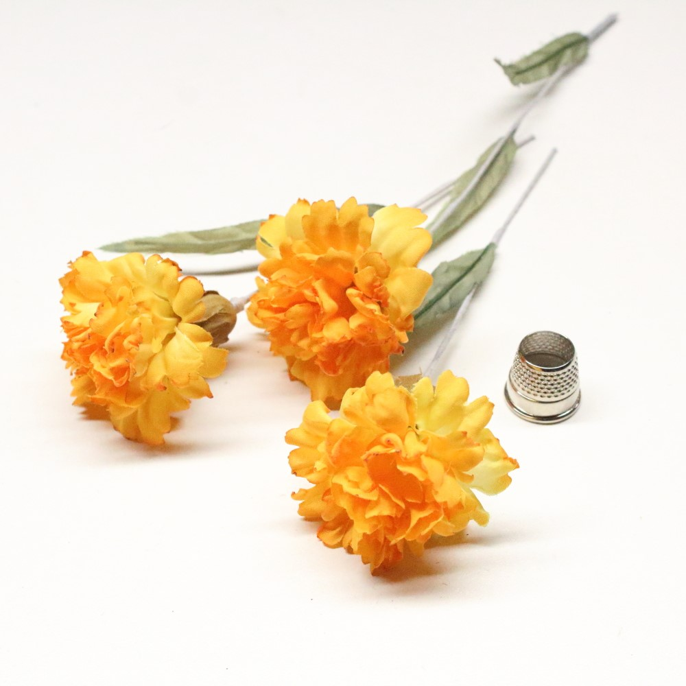 Vintage Yellow Carnation Topsimages